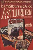 Couverture Les meilleurs récits de Astounding Stories, volume 1