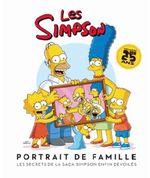 Couverture Les Simpson : portrait de famille