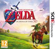 Jaquette The Legend of Zelda : Ocarina of Time 3D