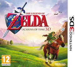 Jaquette The Legend of Zelda : Ocarina of Time 3D