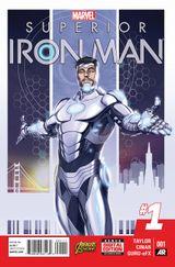 Couverture Superior Iron Man (2014 - 2015)