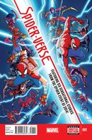 Couverture Spider-Verse (2014)