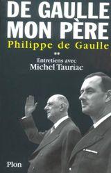 Couverture De Gaulle, mon père, tome 2
