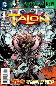 Couverture Talon (2012 - 2014)