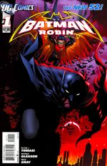 Couverture Batman and Robin (2011 - 2015)