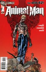 Couverture Animal Man (2011 - Present)