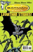 Couverture Batman Incorporated: Leviathan Strikes