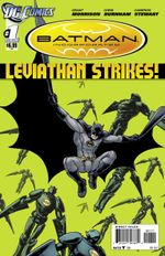 Couverture Batman Incorporated: Leviathan Strikes