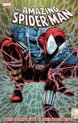 Couverture The Amazing Spider-Man: The Complete Clone Saga Epic, Book 3