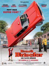 Affiche Benoît Brisefer : Les Taxis rouges