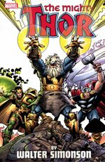 Couverture The Mighty Thor By Walter Simonson, Volume 2
