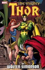 Couverture The Mighty Thor By Walter Simonson, Volume 3