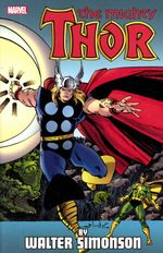 Couverture The Mighty Thor By Walter Simonson, Volume 4