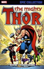 Couverture The Mighty Thor Epic Collection: War of the Pantheons