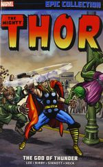 Couverture Thor Epic Collection: The God of Thunder