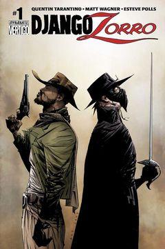 Couverture Django/Zorro