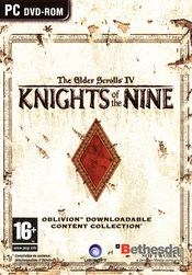 Jaquette The Elder Scrolls IV : Knights of the Nine
