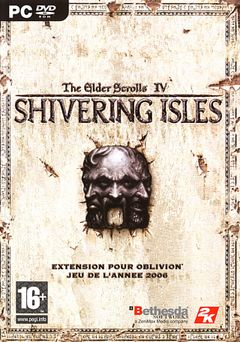 Jaquette The Elder Scrolls IV : Oblivion - The Shivering Isles