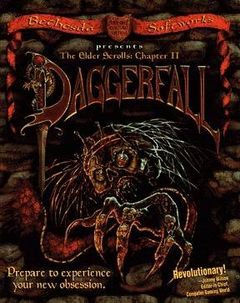 Jaquette The Elder Scrolls II: Daggerfall