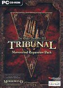 Jaquette The Elder Scrolls III : Tribunal