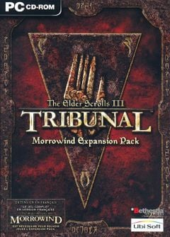 Jaquette The Elder Scrolls III : Tribunal