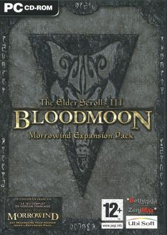 Jaquette The Elder Scrolls III : Bloodmoon