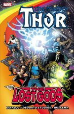 Couverture Thor: The Lost Gods