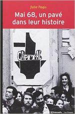 Couverture Mai 68, un pavé dans leur histoire : Evénements et socialisation politique