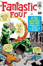 Couverture Fantastic Four (1961 - 1996)