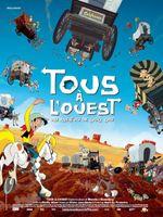 Affiche Tous à l'Ouest : Une aventure de Lucky Luke