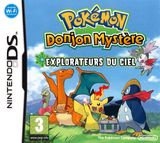 Jaquette Pokémon : Donjon Mystère - Explorateurs du Ciel