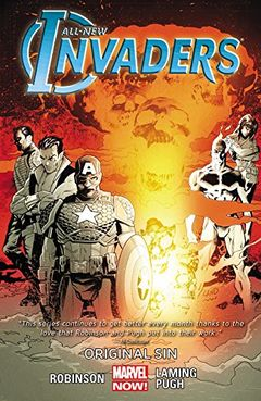 Couverture Original Sin - All-New Invaders, tome 2