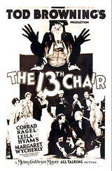 Affiche La Treizième Chaise