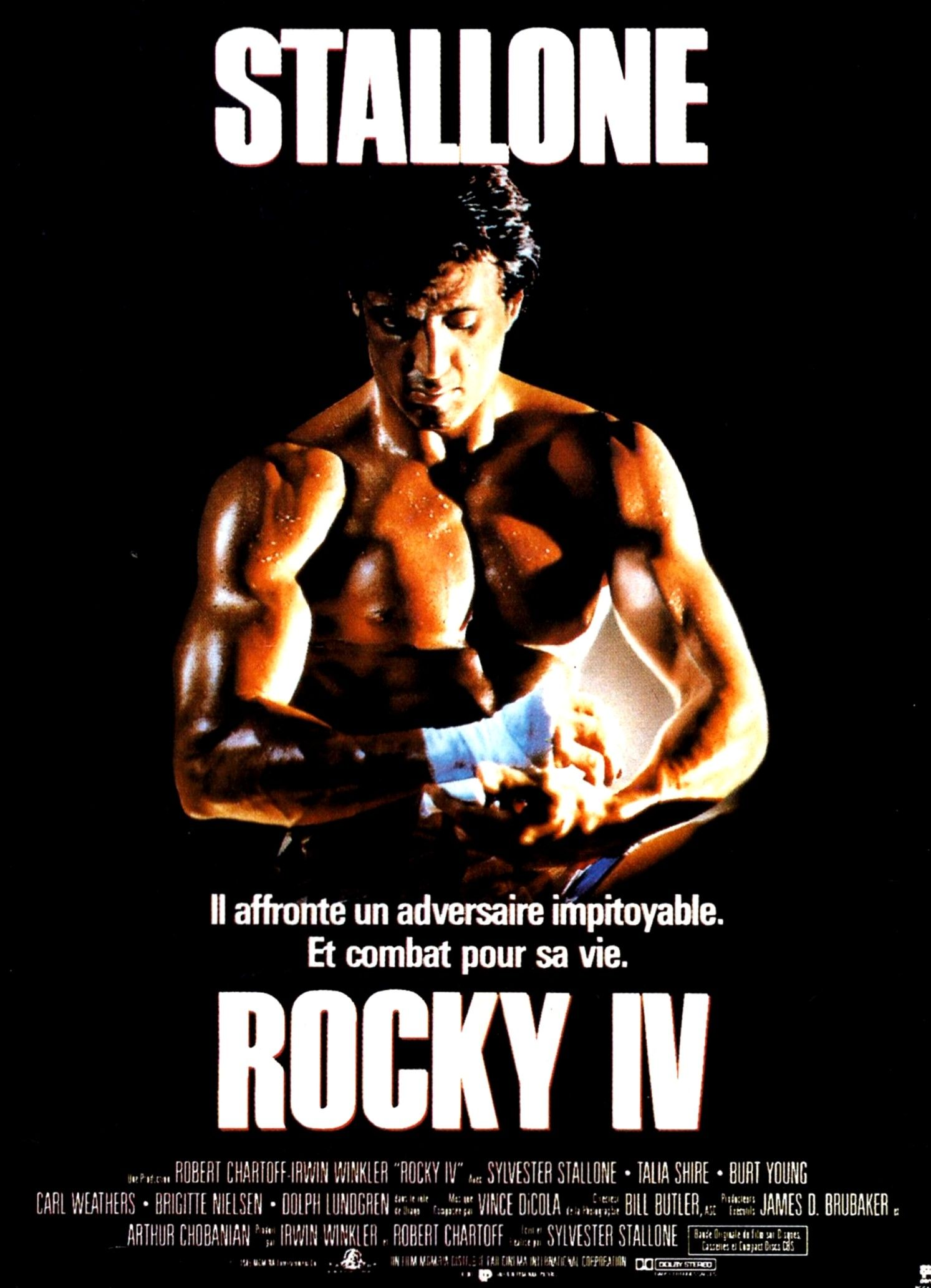 rocky 4 film review What would adrian think we all know that sylvester stallone did extremely  physical work in the rocky films, but it turns out the fourth film very.