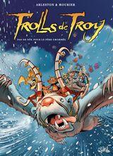 Couverture Pas de Noël pour le père Grommël - Trolls de Troy, tome 19