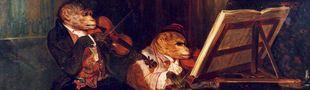 Cover Petite chronologie illustrée de la musique dite classique
