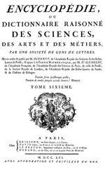 Couverture L'Encyclopédie ou Dictionnaire raisonné des sciences, des arts et des métiers