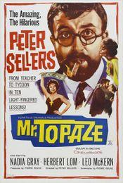 Affiche Mr. Topaze