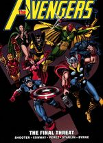 Couverture Avengers Epic Collection: The Final Threat