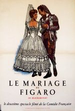 Affiche Le Mariage de Figaro