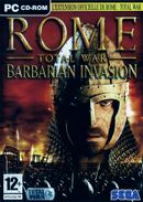 Jaquette Rome : Total War - Barbarian Invasion