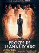 Affiche Procès de Jeanne d'Arc