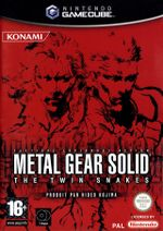 Jaquette Metal Gear Solid: The Twin Snakes
