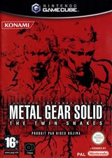 Jaquette Metal Gear Solid : The Twin Snakes