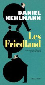 Couverture Les Friedland