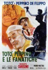 Affiche Totò, Peppino et les fanatiques