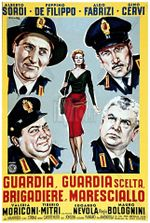 Affiche Guardia, guardia scelta, brigadiere e maresciallo