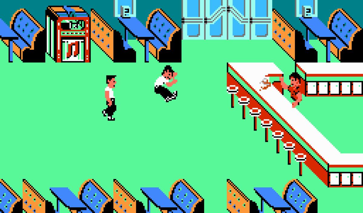 retour vers le futur 1989 jeu vid o senscritique. Black Bedroom Furniture Sets. Home Design Ideas