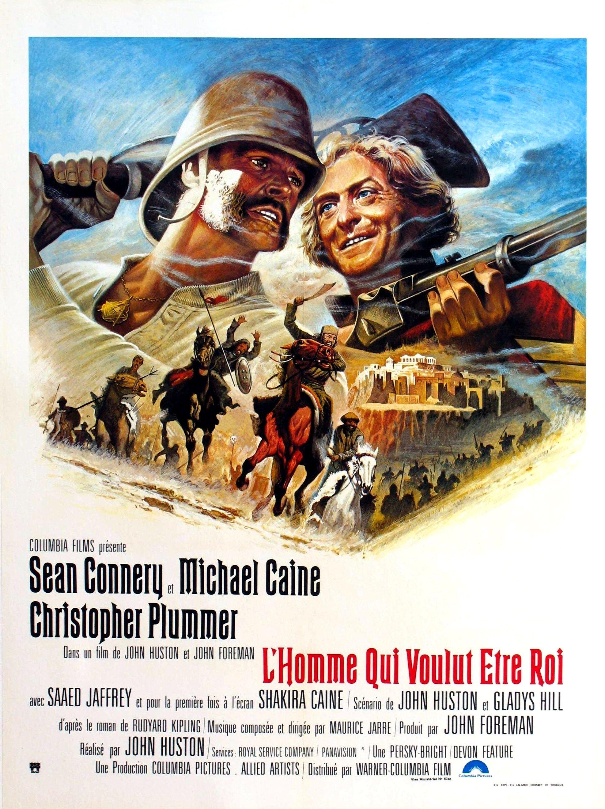 L'Homme qui voulut être roi - Film (1975) - SensCritique