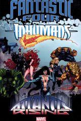 Couverture Fantastic Four/Inhumans: Atlantis Rising